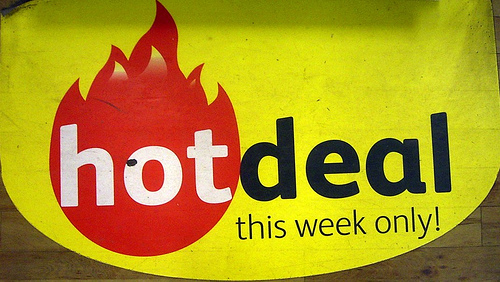 HOT DEALS OF WEEK