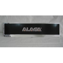 Frame Plate Alaga Nickel (New Type)