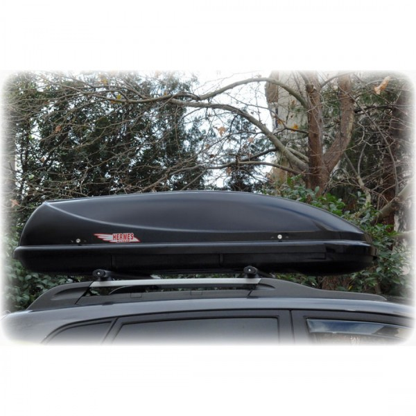 ROOFBOX HERMES 360Lt + ROOF RAILS HERMES GS1 (SET)