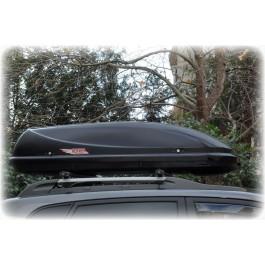 Μπαγκαζιέρα Hermes Altage 360 lt Μαύρη (Μεταλλικό Χρώμα)
